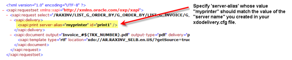 BI Publisher Bursting Control File Referencing xdodelivery.cfg