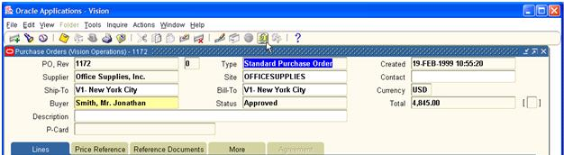 AventX allows users to attach any additional documents using Oracle fun