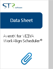 AventX Attachment Printer-VIZIYA WorkAlign Scheduler Data Sheet